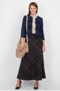 Длинная шерстяная юбка Emka Fashion 314-eltara