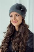 Красивая женская шапочка Landre Симона (3 цвета)