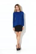 Блузка синего цвета Donna Saggia DSB-28-37t