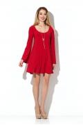 Мини-платье красного цвета Donna Saggia DSP-202-29t