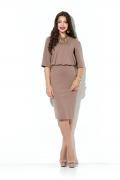 Платье с объемным верхом Donna Saggia DSP-199-26t
