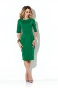 Платье-тюльпан из плотного трикотажа Donna Saggia DSP-197-73t