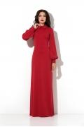 Длинное платье в пол красного цвета Donna Saggia DSP-190-29t