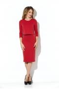 Платье с эффектом юбки и топа Donna Saggia DSP-75-29t
