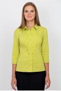 Блузка фисташкового цвета Emka Fashion b 2105/shelest