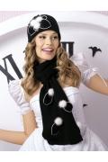 Комплект шапочка и шарф Willi Carlota