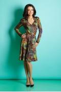 Платье с длинным рукавом TopDesign B5 030