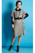 Платье необычного кроя TopDesign B5 155