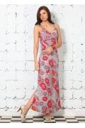 Стильное длинное платье | 1592