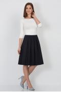 Тёмно-синяя юбка Emka-Fashion 552-doroti