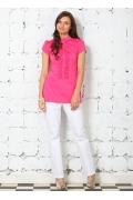 Розовая блузка из 100% хлопка | 4626/1