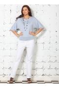 Недорогая повседневная блузка | 4618