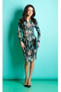 Трикотажное платье Top Design B5 013