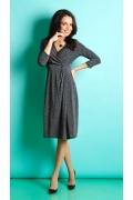 Платье с имитацией запаха TopDesign B5 051
