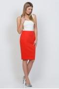 Юбка яркого цвета Emka Fashion 533-antonina
