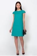 Платье изумрудного цвета Emka Fashion PL-441/renessa