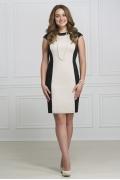 Чёрно-белое платье Rosa Blanco 3009
