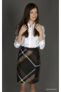 Модная юбка до колена | 148-madlen