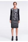 Платье с принтом Sunwear US232