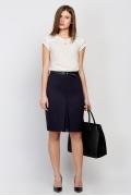 Тёмно-синяя юбка Emka Fashion 545-valentina
