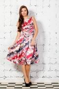 Яркое летнее платье | 1613