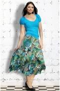 Длинная юбка из 100% хлопка | 2564/4