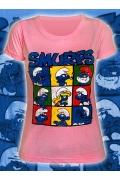 Женская футболка с эффектом Винтаж Smurfs