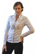 Офисная блузка с жабо | Б644-853