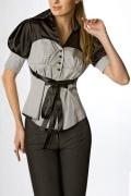 Стильная офисная блузка | Б656-1000-300