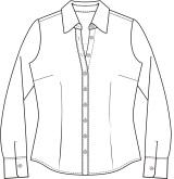 купить офисную блузку