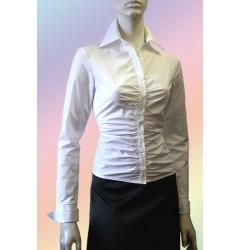Классическая белая блузка