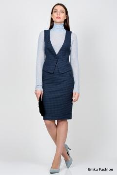 Офисный жилет Emka Fashion GL-002/sambuka