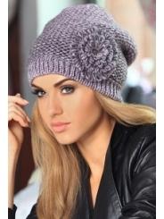 Женская шапочка крупной вязки Kamea Rita