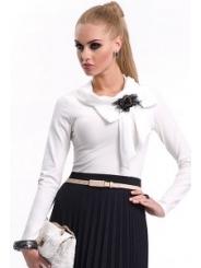Коралловая блузка Zaps Lolita