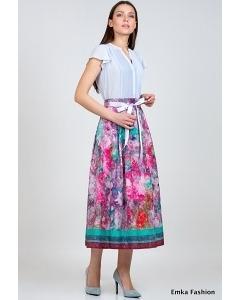 Летняя юбка Emka Fashion 522-sharlotta