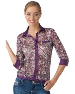 Стильная повседневная блузка