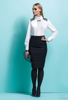 Стильное офисное платье Zaps Molly