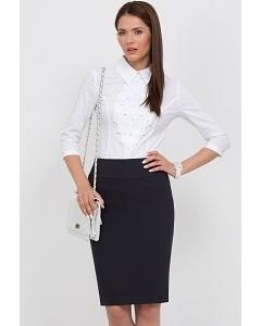 Офисная юбка чёрного цвета Emka Fashion 202-60/vega