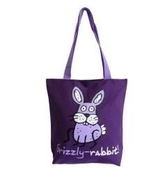 Фиолетовая сумка Grizzly | ДМ-1243