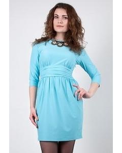 Бирюзовое платье Golub П286-2584