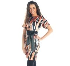 Атласное платье 2012 Donna Saggia