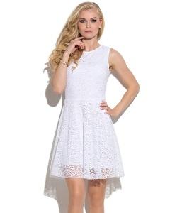 Белое кружевное платье Donna Saggia DSP-275-12