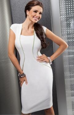 Белое платье Enny | 15035