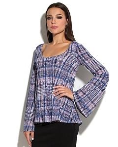 Расклешенная блузка Donna Saggia DSB-40-41t