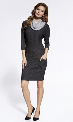 Платье с воротником хомут Ennywear 200014