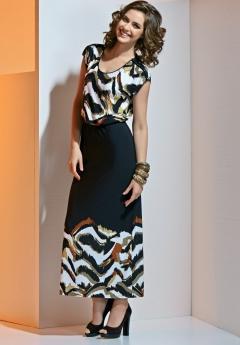 Длинное платье TopDesign A4 049