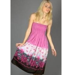 Розовый сарафан Emka Fashion