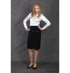Недорогая стильная юбочка Emka Fashion | 59-angelika