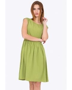 Летнее платье зеленого цвета Emka Fashion PL-417/meiko