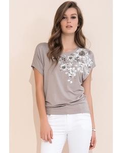 Трикотажная блузка из коллекции 2017 Zaps Gina
